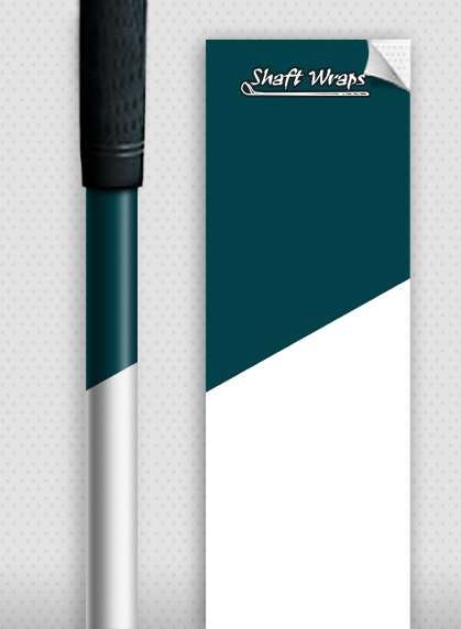 Dark Teal and White-0