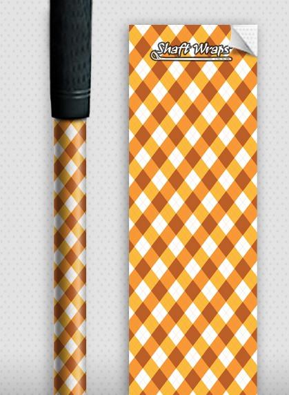 Orange Argyle-0